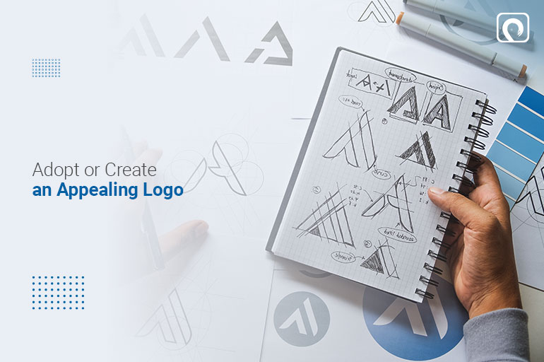 Appealing logo  to establish yourself as a brand online