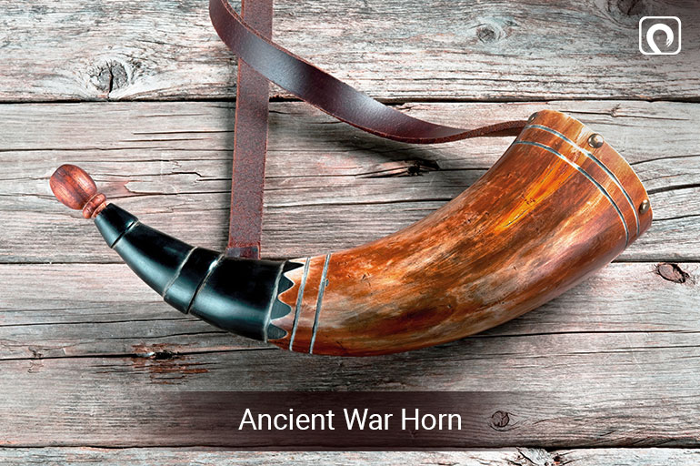 Ancient war horn