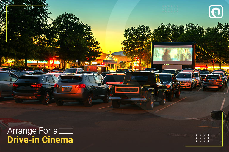 Christmas Activity - Arrange for a Drive-in Cinema