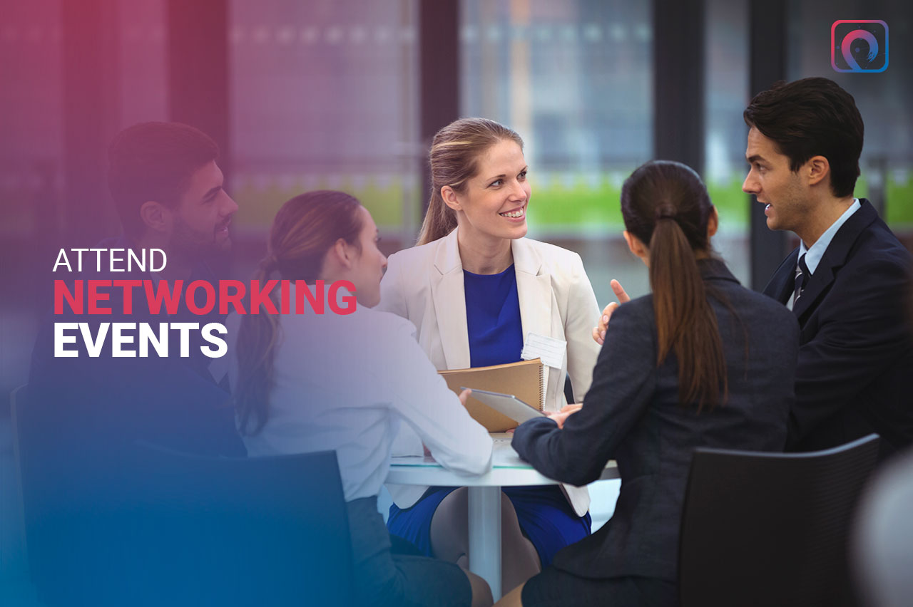 Networking Tip - Attend Networking Events