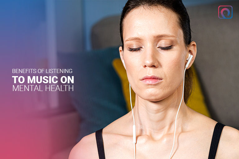 Benefits of listening to music on mental health