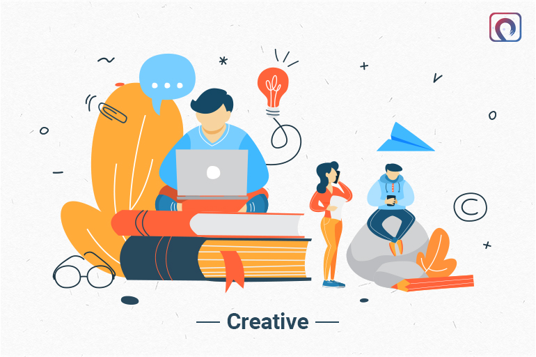 A writer must be Creative