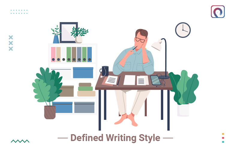 A writer must be flexible