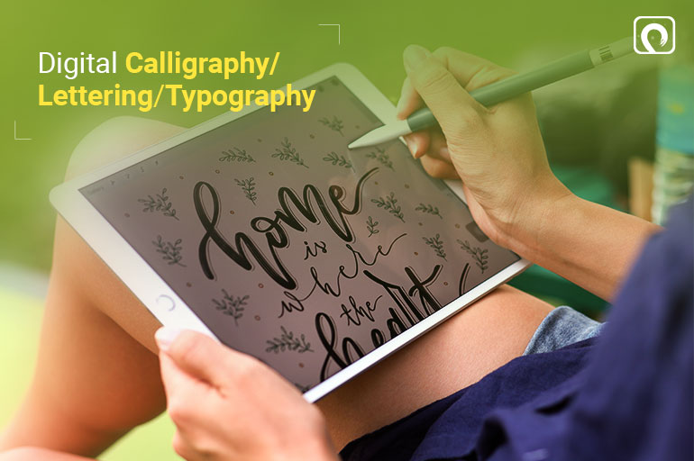 Things to Draw on Procreate - Digital Calligraphy Lettering