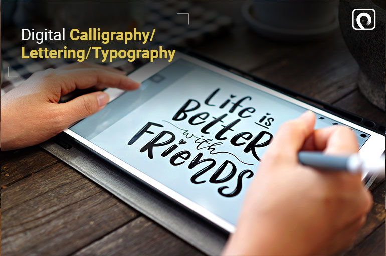 Things to Draw on Procreate - Digital Calligraphy