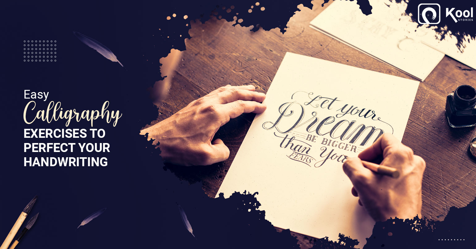 Easy Calligraphy Exercises To Perfect Your Handwriting