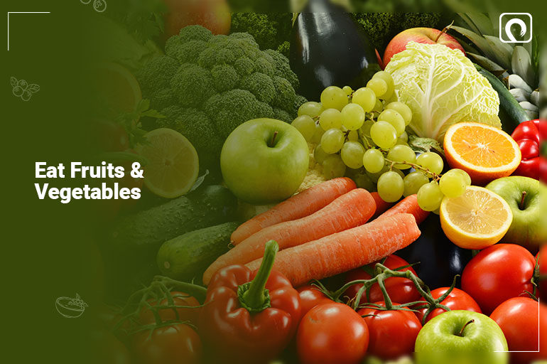 best time to eat fruits & vegetables
