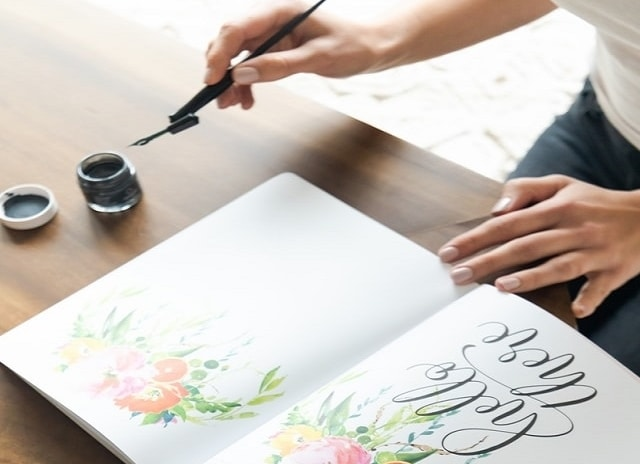 Basic Calligraphy Stroke - Faux calligraphy