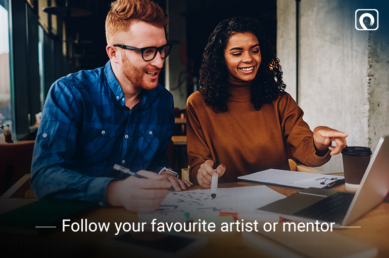 Follow-your-favourite-artist-or-mentor