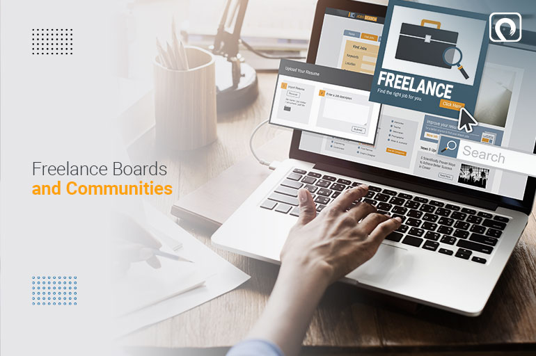 For Freelance Client- Freelance boards and communities