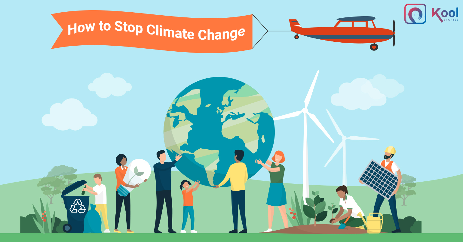 How to Stop Climate Change- an Individualistic Approach