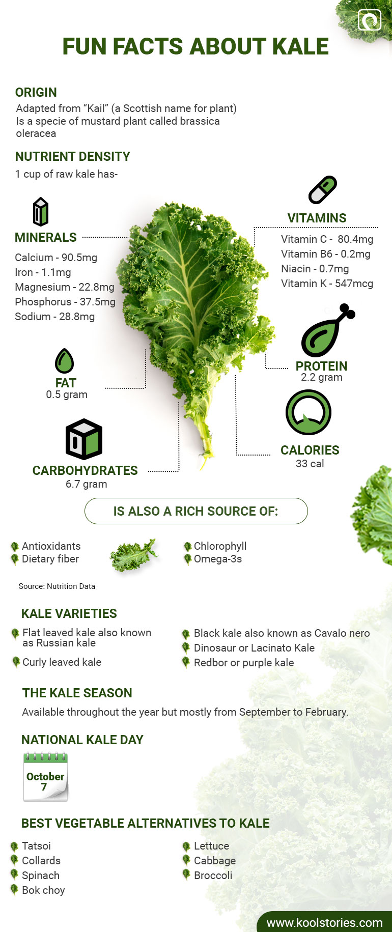 Fun facts about Kale