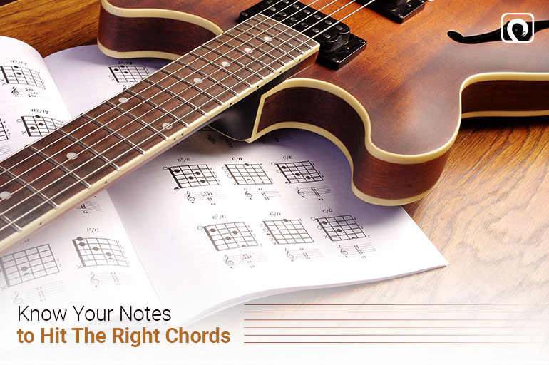 Guitar Skill - Know where your notes to hit the right chords