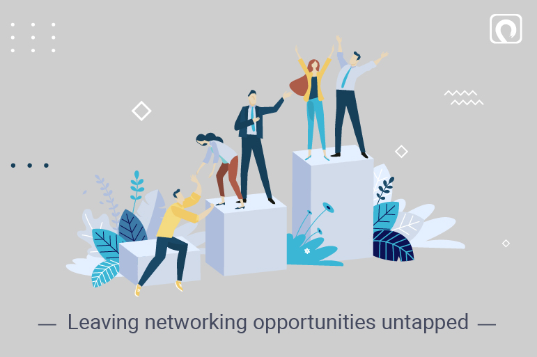 Entrepreneurial Mistake - Leaving networking opportunities untapped