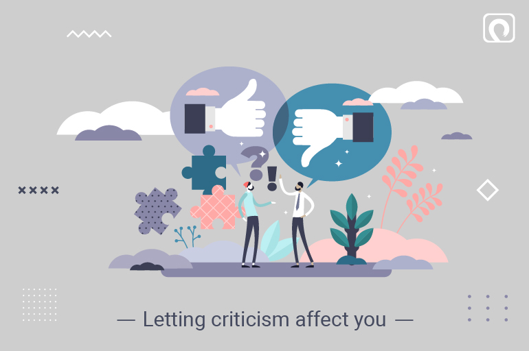 Entrepreneurial Mistake - Letting criticism affect you