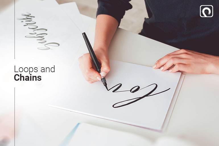 Calligraphy Exercises - Loops and Chains
