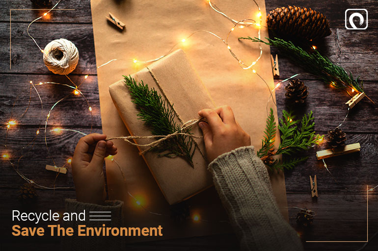 Christmas Activity - Recycle and Save the Environment
