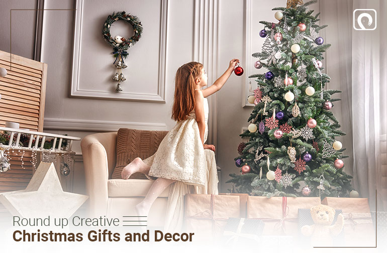 Christmas Activity - Round up Out-of-the-box Christmas Gifts and Decor