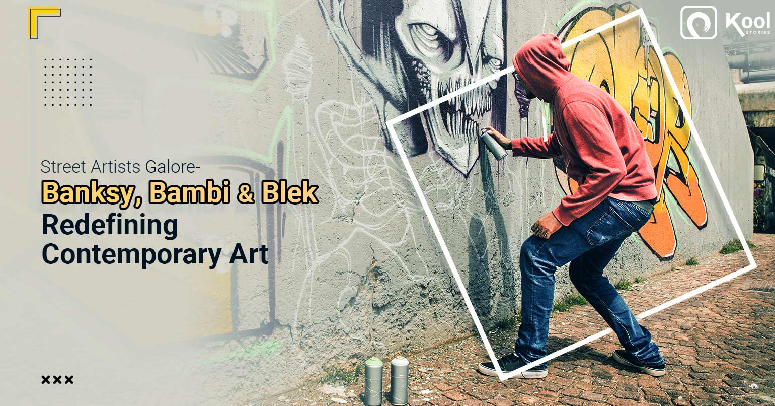Street Artists Galore- Banksy, Bambi and Blek Redefining Contemporary Art